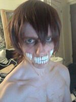 Titan Form Eren Cosplay Makeup by Mechgeek