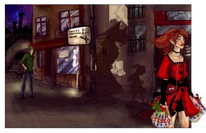 Little Red Riding Hood by comfortablylaura