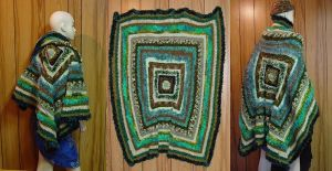 Shades of Green - Lap Rug by StephaniePride