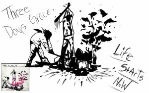 Three days Grace life starts now album cover by TalonclawSuperpersun