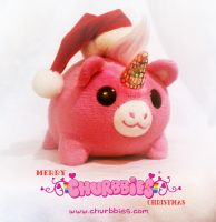 Merry Churbbies Christmas! by liquidcrow