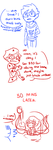 Comic: Dave and spiders by Karkat-chan
