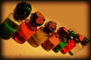 Mini Bottles by lyxx