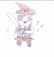 Entry for N-H-Art - Chibi Witch of Music by FrozenDiamond267