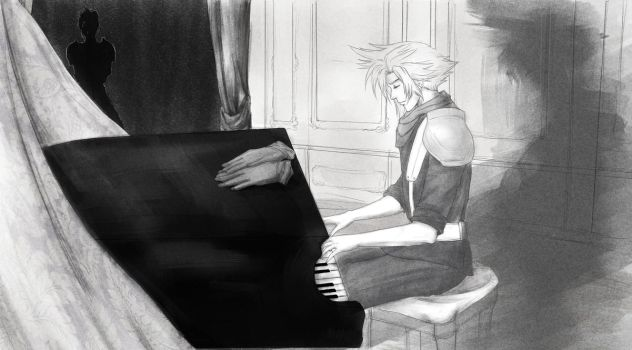 The_piano_Cloud by LonelyEva