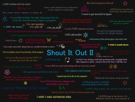 Shout It Out II by SakuraBlossom4