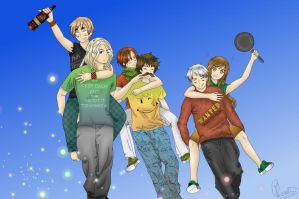 APH - Piggy back rides with the BTT! by Silbido
