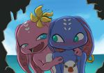 Fizz and his girlfriend doodle by Nestkeeper