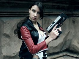 Lara Croft - biker costume by TanyaCroft