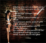 Imvu gimp pic edit with Poem written by me by UltimateKiddo