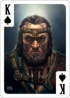 King of Spades by d-torres