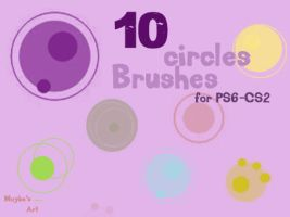 Circles Brushes by maybe55