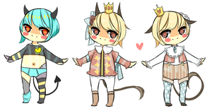 random first batch - demon princes? [CLOSED] by kiim-adopts