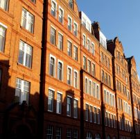 Red-brick Row by michael-brown