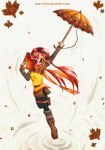 Autumn Magical Girl Kuju by RinLina