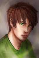 Eren Jaeger (rough) by Suixere