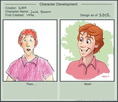 Character Development - Jack by chill13