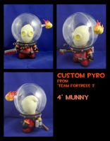 Custom Loadout TF2 Pyro Munny by FlyingSciurus
