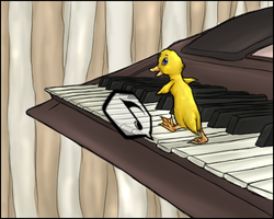 Waddle on the Keys by Nestly