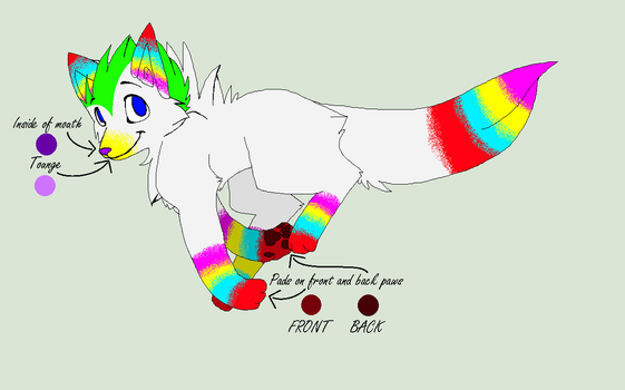 Canine/Wolf/Song adopt: Wolfie by Llamagal21