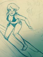 Surfer Pearl by SpazYourBunny