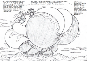 Fat Giantess Camilla by Saxxon