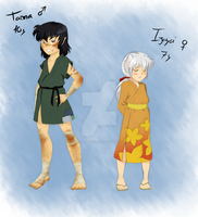 Inuyasha's fanbabies by SamSilver-chan92