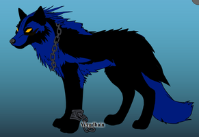 The Dark Wolf by WOLFBLADE111