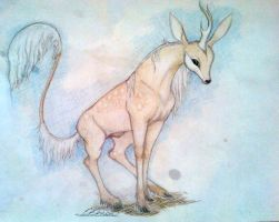 Taho | Stag | Wanderer by GeckoSmiles