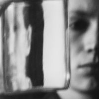 woman in glass v.1 by stillhitori