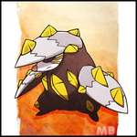 Mega Excadrill by boultim