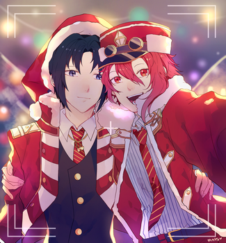 Spending Christmas with Iori by redricewine