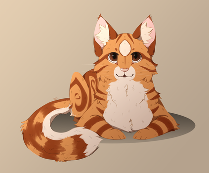 Maine Coon YCH by Savkate