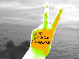 Give peace a chance by 89000007ANL