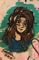 Me in Markers by Sami01