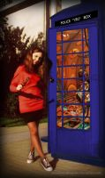 Amy Pond cosplay by AnastasiyaKosenko