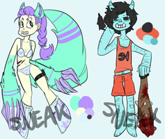 Monster Adopts [CLOSED] by Sneaksneaksneak