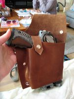 Leather holster by saray