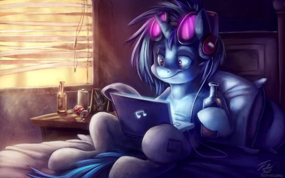 All Night_collab with SophieCabra by Tsitra360