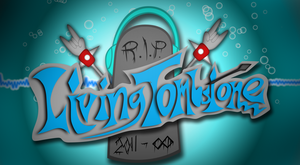 TheLivingTombstone logo by AwokenArts
