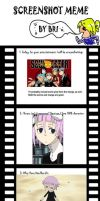 Screenshot meme--Soul Eater by Colliequest