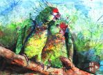 Parrot couple by MN1993