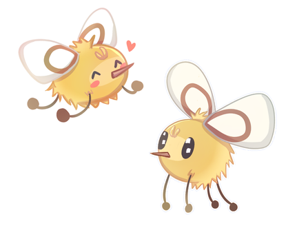Some Cutieflies by PaperCyn