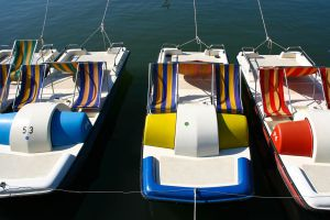 Colorful Boats II by DeviantTeddine