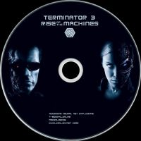 Terminator 3 Disc Label by RoadWarrior00