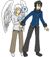 commish: Demetrius and Neill by oofuchibioo