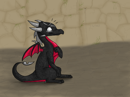 Little Cynder trolol by Lilac-The-Gerbil