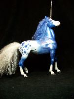 blue appaloosa Unicorn 73 by AmandaKathryn