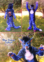 Blue Demon Fullsuit by Tsebresos