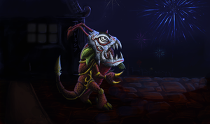 Kog'Maw- Dragon Dance by MrScrake